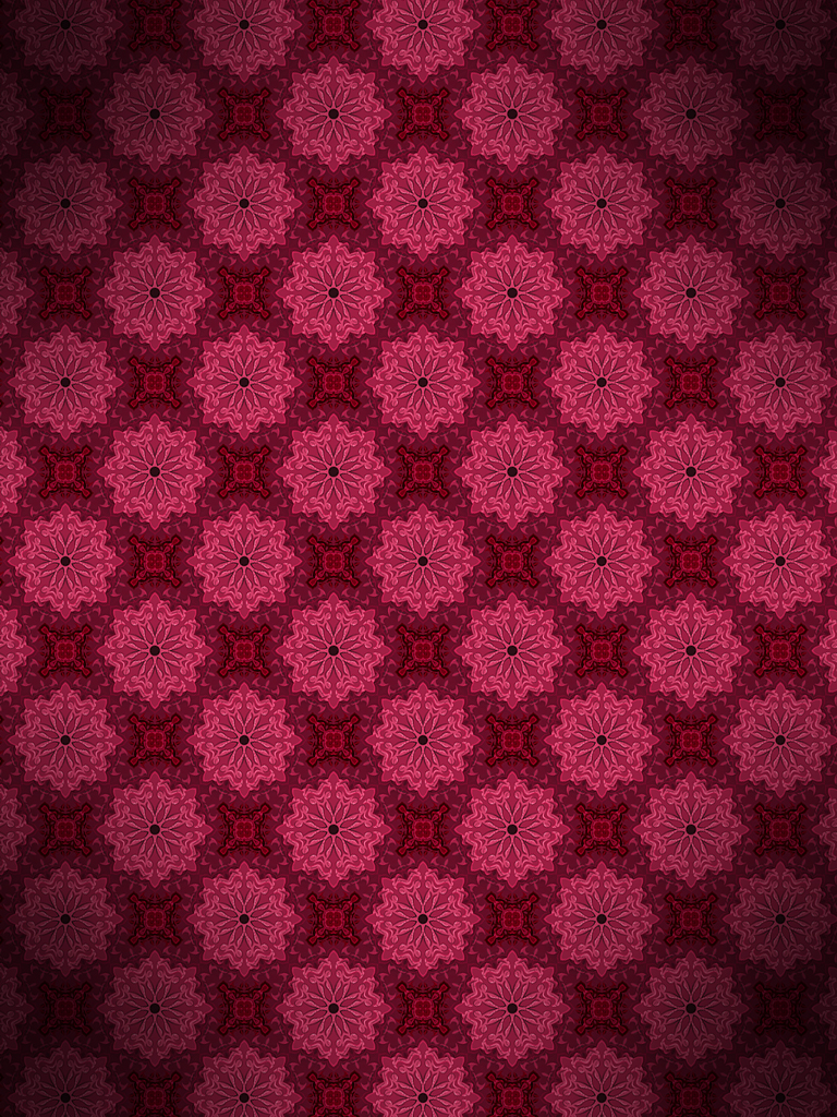 Purple And Grey Floral Wallpaper