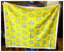 Green Monster fabric